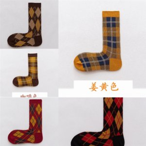 lx1d Winter New Men's Thick Autumn and Winter Terry sock Japanese knit funny Thick Wool Warm Thick