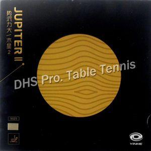 Galaxy Yinhe Jupiter II Tacky Pips-in Table Tennis 고무 오렌지 스폰지 201116