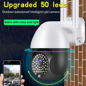 HD 1080P 50 LED Smart Full Color IP Camera Outdoor Security Video Surveillance Wifi IP Cameras Waterproof Motion Night Vision