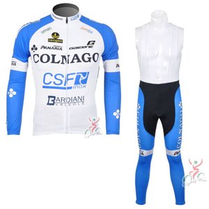 COLNAGO team Cycling long Sleeves jersey bib pants sets men Maillot Ropa Ciclismo Bicycle Jersey Bike Cycling Clothing Outdoor Jersey 102606