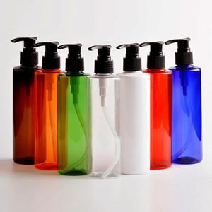 30X250ml Svuotare dell'erogatore della pompa colorato bottiglia di plastica 250cc contenitore cosmetico con lozione per Shampoo