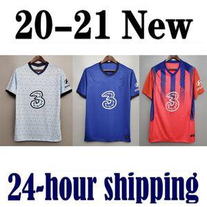 novo 2020 2021 WERNER PULISIC KANTE Chelsea ABRAHAM MOUNT ZIYECH camisetas de futebol Kits de futebol camiseta 20 21 HOMENS KIDS SET