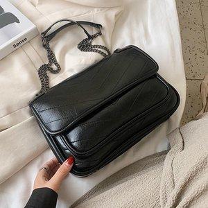 Маленькая искусственная кожа женщин 2021 зима новая стрелка сумочки женские путешествия леди мода рука сумка