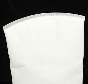 100 150 200 White Micron 4x15 Inch Fish Aquarium Marine Sump Felt Pre Filter Sock Bag High Density Of Interspace wmtpAES item_home