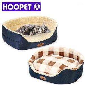 Hoopet Pet Yatak Sonbahar Ve Kış Sıcak Pet Köpek Kedi Evrensel Yataklar Yumuşak Yastık Kanepe Küçük Orta Köpek İçin Tüm Size1