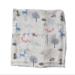 Baby Wrap Pano de Bambu Fibra Bebê Pijama Banho Robe Gaze Babys Envoltório Pano Macio Soft confortável Seguro Alta Qualidade Bebê Bebê Favor Favor Favorppc5049