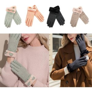 Womens Winter Warm Touch Screen Gloves Fleece Lined Soft Stretchy Mittens for Dressing Driving Biking