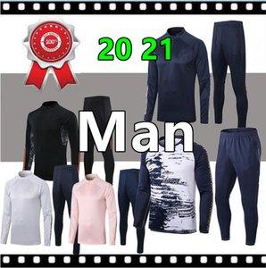 Тайский качество человек 2020 21 футбол обучение спортивный костюм мужской футбол костюм 20 21 взрослый футбол костюм
