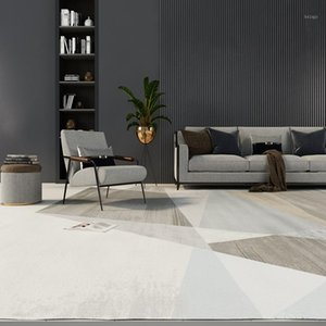 Carpets Modern Concise Style Soft Carpet For Living Room Light Home Bedroom Nordic Office Study Fluffy Area Rug Floor1