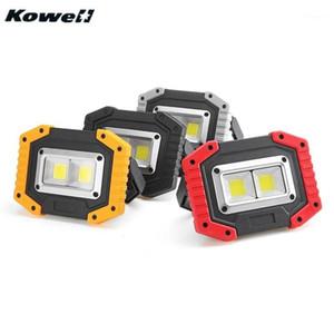 Kowell 30 W COB LED Work Light impermeável recarregável led holofote para camping ao ar livre caminhando carros de emergência reparação # D1