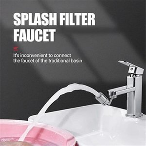 Universal Splash Filter Wasserhahn Badezimmer Wasserhahn Ersatz Filter Wasserhahn Bibcks Kitchen Tool Tap für Wasserfilter Meer Versand IIA707