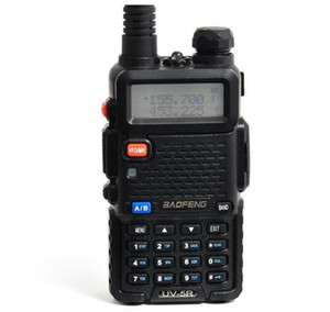 Hot BaoFeng UV-5R UV5R Walkie Talkie Dual Band 136-174Mhz & 400-520Mhz Two Way Radio Transceiver with 1800mAH Battery free earphone