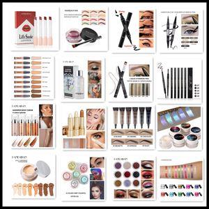 HANDAIYAN Concealer Eyebrow Liquid Eyeshaw Colorful Lipstick Lip Gloss Pigment Liquid Lipstick Fashion Makeup lips Cosmetic Beauty