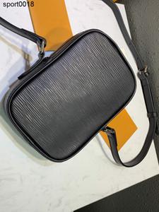 2020 블랙 크로스 바디 미니 숄더 백 다뉴브 RARE 팝업 새로운 크로스 바디 패션 여성 지갑 돈 가방 M55120