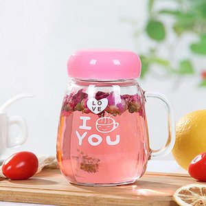 Female Compartment Glass Compact Tea Men Water Flower And Home Exquisite Fsile Office Women Cup 380ml With wmtbrS lyqlove