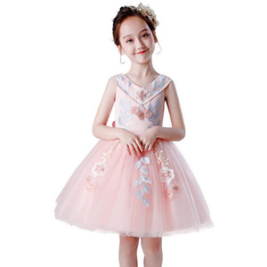 KEAIYOUHUO 2020 Halloween Noël New enfants Costume fille robe de princesse Tutu bébé Vêtements enfants Robes pour Beautiful Girls