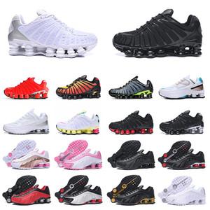 nike shox tl zapatos para correr hombres mujeres zapatillas de deporte triples all white speed red spruce aura mujer hombre zapatillas deportivas runners tamaño eur 36-46 off white