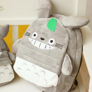 Новое поступление Totoro Plush Baby рюкзак милая мягкая школа детей мультфильм сумка для детей мальчиков девушек друзья игрушечные подарки 201027