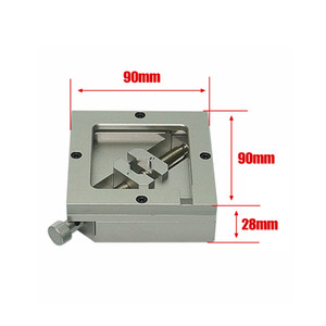 High quality 90MM Silver BGA Reballing Station with Allen key For PCB Chip Soldering Rework Repair For PCB Chip Soldering Rework