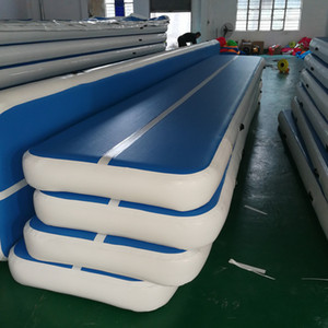 Free Shipping Free Pump Inflatable Air Track Mat Floor 6*2*0.2M Tumbling Track For Gymnastics Home Use Airtrack Floor Air Mattress