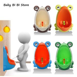 Frog Plastic Baby Boys Children Pee Potty Toilet Training Kids Urinal Bathroom LJ201112