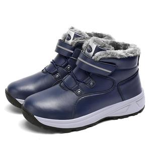 Peluche calda LYXLYH Inverno Stivali Donne nuovo modo della piattaforma del sistema femminili della caviglia caldo per le donne Booties Feminimo