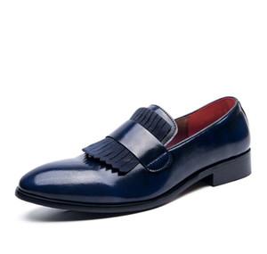 2021 Роскошный Топ Дизайнер Летний Англия Мужская Обувь Буллок Резьба Дрессея Обувь Мужчины Роскошные Лозеры Мужчины Дизайнер Обувь EUR Размер: 38-48 504