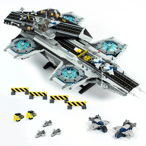 07043 Creator movie hero Series Building Model Sky Mothership Building Blocks 3057Pcs Bricks Education Toys Gift Compatible 76042
