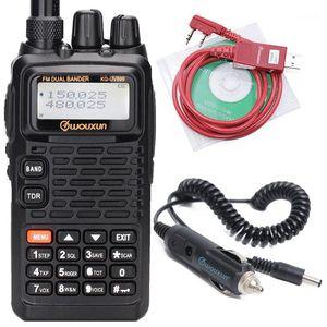 WOUXUN KG-UV899 VHF UHF Dual Band DTMF 1750Hz VOX SOS TOT IP55 Waterproof Walkie Talkie1