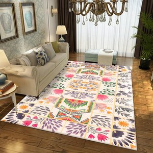 Carpets Nordic Ethnic Wind For Living Room Simple Carpet Coffee Table Blanket Geometric Pattern Bedroom Home Large Area Rugs