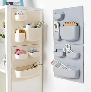 Stagitage mural étagère de douche étagère étagères de salle de bains plastique panneau de maison de salle de bain multifonction accessoires de stockage de cuisine GWC5591