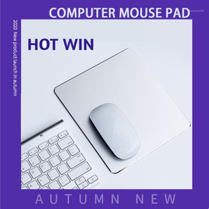 Aluminum alloy metal mouse padAluminum hard double-sided thick smooth pad1