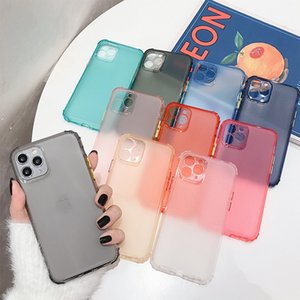 Shockproof Bumper Transparent Phone Case For iPhone 12 11 Pro X XR XS Max 8 7 6 6S Plus Clear Soft TPU Back Cover