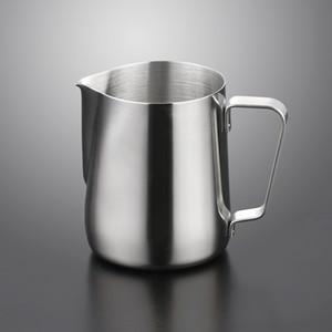 Jarra de espuma de láctea de acero inoxidable 5 7 12 20 oz leche crema taza de café Crema de café Latte espuma de lanzador Cappuccino Pull Flower Mar Barco BWE2609