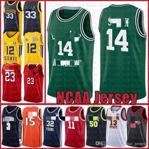 NCAA 14 Smith College Fresh Prince Lebron 23 James Dwyane 3 Wade Kyrie Jersey de basketball Irving Stephen 30 Curry NCAA VINCE 15 Carter A