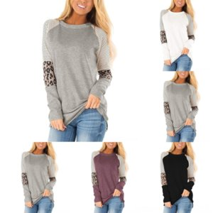 G8BD Colori NUOVO DONNA DONNA CLOTLE Spring Leopard Autunno Toddler Bambini Ragazze invernali Abiti invernali Caduta Vestiti Giacca a maniche lunghe Tshirts Gonne