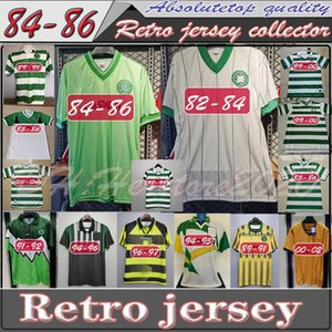 NCAA 82 84 86 89 Celtic Retro Soccer Jerseys 1991 1992 1998 1999 football shirts LARSSON Classic Vintage Sutton 1995 1997 football kits top