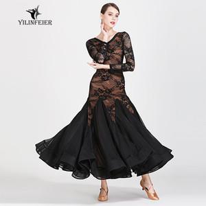 Neues Tanzturnierkleid Tanz Ballsaal Walzer Kleider Standard Kleid Frauen 1872