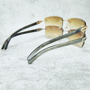 Trendy Glasses Horn Wholesale Sunglasses Real Vintage Designer Buffalo Gentlemen MJX5 Buffs Luxury Carter Women Uafmo Mrhsv