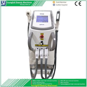 Beauty Equipment IPL Shr OptElightRf Beauty Machine for Spots Freckles Removal Skin Rejuvenation Hair Removal Treatment
