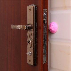 Puerta de cocina Silicona Succión de la puerta Puerta Handle Manija Anti-Collision Pad Mute Reducir la protección de seguridad de ruido 2000pcs T1I3406