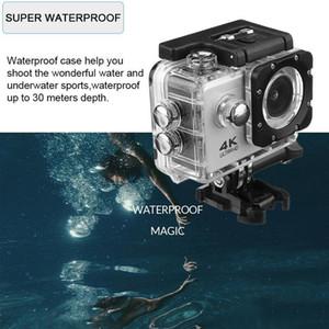"SJ4000 Action Camera Ultra HD 4K   30fps WiFi 2.0"" 140D Underwater Waterproof Cam Helmet Vedio go Sport pro Came"