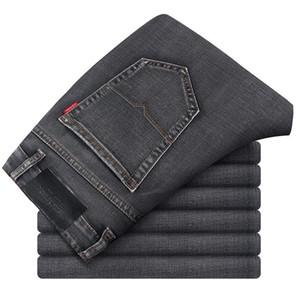 2020 I nuovi pantaloni di cotone della molla del denim Skinny Denim Jeans Uomo Slim Fit jeans classici uomini di alta qualità pantaloni morbidi Mens
