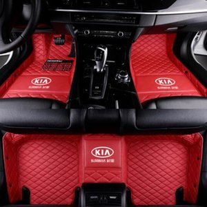 For Kia series 2008-2020 luxury custom waterproof floor mats Waterproof Pad Car Mat Carpets Non toxic and inodorous floor mat