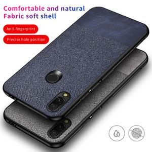 Cloth Colors Splice Leather Case For Xiaomi 9T 9 SE 8 Lite Mi 5X 6X A1 A2 Redmi K20 6A Note 5 6 7 Pro Cover