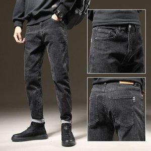 Baggy Jeans Herren lose Denim Hosen Casual Stretch Straight Jeans Designer für Männer Boyfriend Streetwear