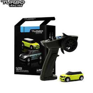 Turbo 1:76 RC Mini Full Printal Wholesale Ract RTR RTR KIT 2.4GHZ Racing Experience جديد براءات الاختراع 201202
