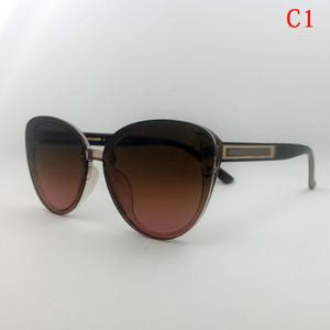 Nuovi occhiali da sole Moda Donna Occhiali da sole Nero Sonnenbrille Lusso UV400 Donna Lunette DE Designer Cat Eye Occhiali da sole a buon mercato