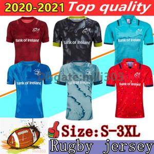 새로운 20 21 뮌스터 렌스 도시 럭비 유니폼 2020 2021 아일랜드 리그 JOHNNY SEXTON BEST CARBERY CONAN 콘웨이 크로닌 EARLS 럭비 셔츠