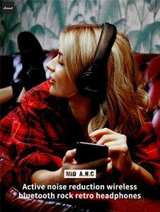 Marshall Orta ANC Bluetooth Aktif Gürültü Kepekli Kulaklıklar Kablosuz Gürültü Kepekli Kulaklıklar